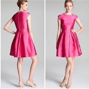 Kate Spade Vail Bow Dress Day Disco Hot Pink